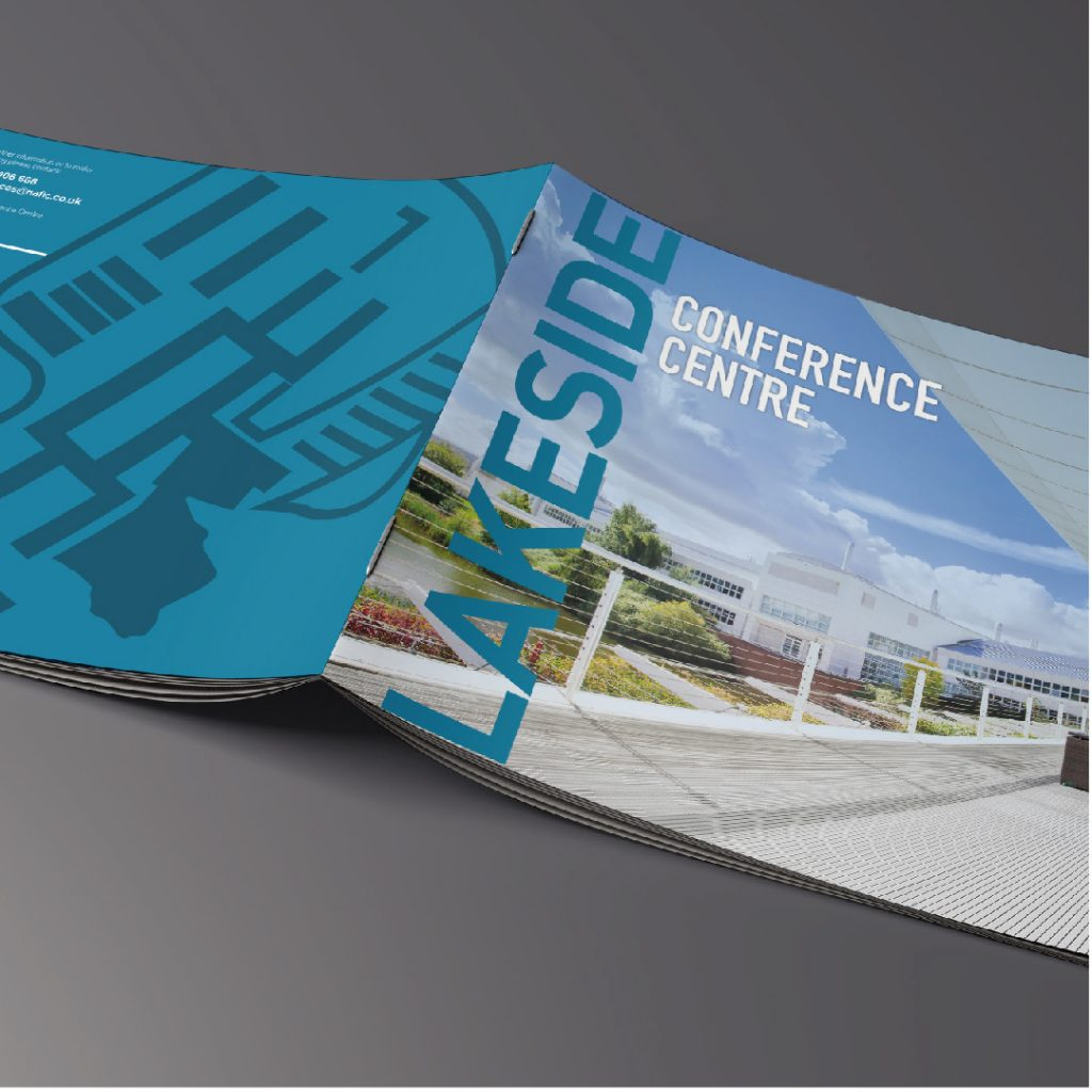 NAFIC redesigned lakeside conference centre brochure