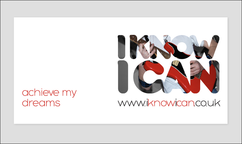 I know I can business card design on grey background