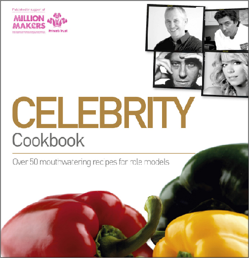 Thumbprint media work, Image of The Prince's Trust Celebrity Cookbook