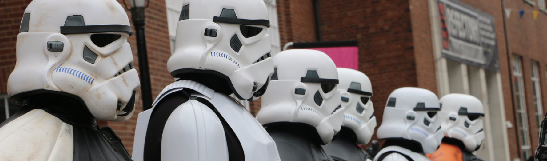 Storm Troopers gearing up for Warped Con