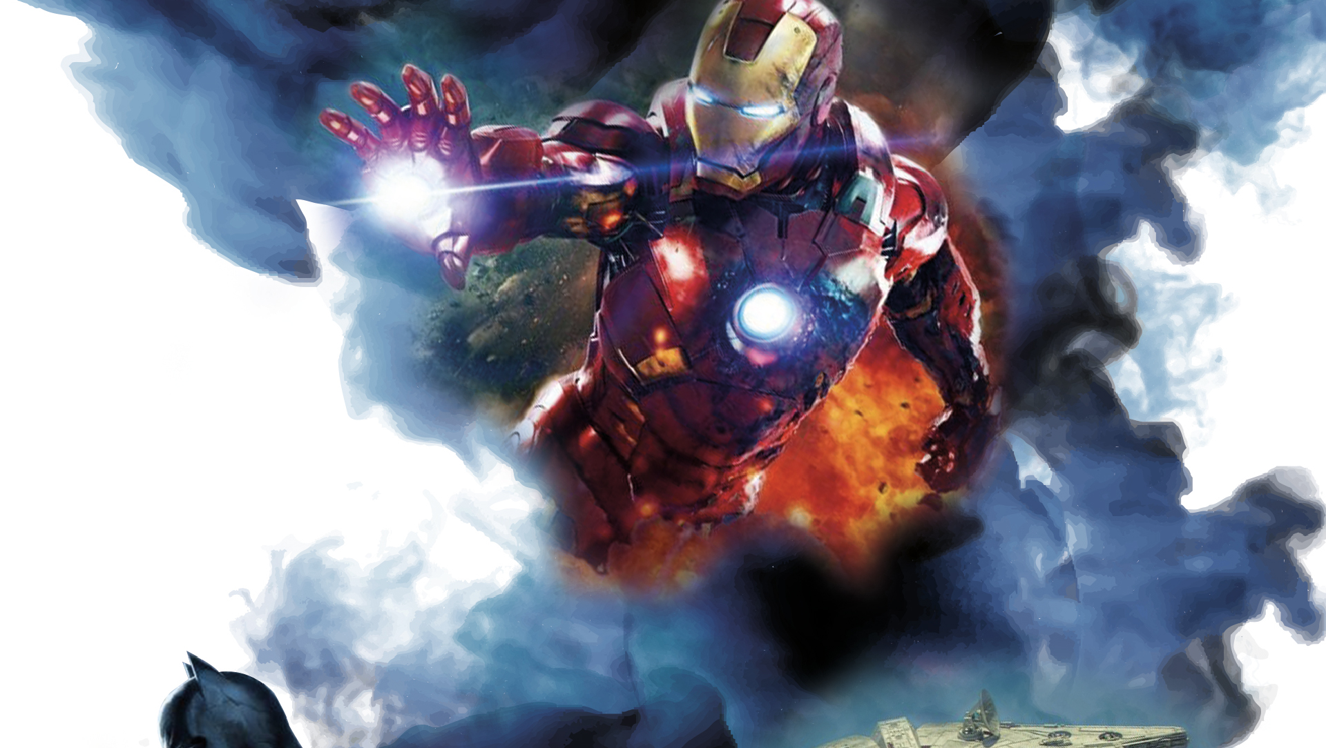 Iron man image taken from the Warped Con home page.