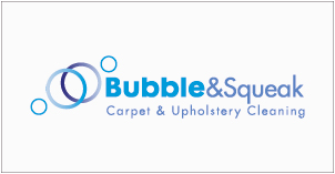 Bubble & Squeak Carpet & Upholstery Cleaning business logo